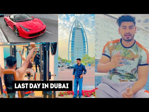 LAST DAY IN DUBAI || BURJ AL ARAB || PUNJABI VLOG 2021