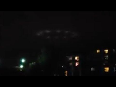 Huge Ring shaped UFO spotted over Shakopee, Minnesota! Sep 13,2018
