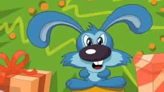 Пошлое прикольное поздравление с новым годом Новогодний кролик