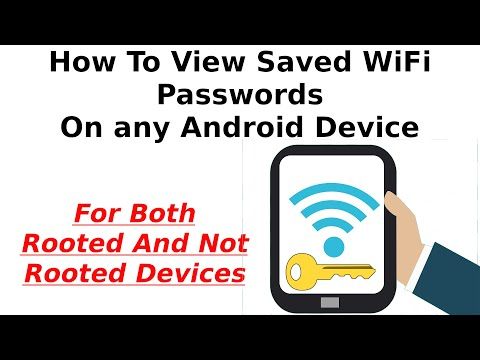 Easiest Way To View Saved WiFi Passwords On Android - With Or Without Root