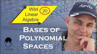 Wild Linear Algebra 20: Bases of polynomial spaces