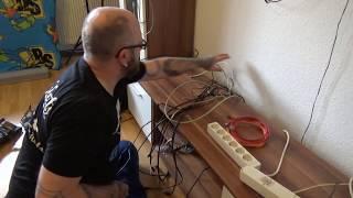 wieder mal alles Neue Verkabeln | HDMI | Toslink | LAN und Stromkabel(, 2017-10-15T06:00:00.000Z)