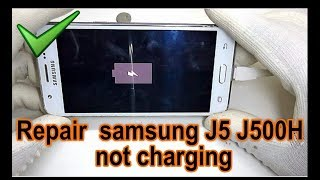 how to repair samsung J5 J500H not charging