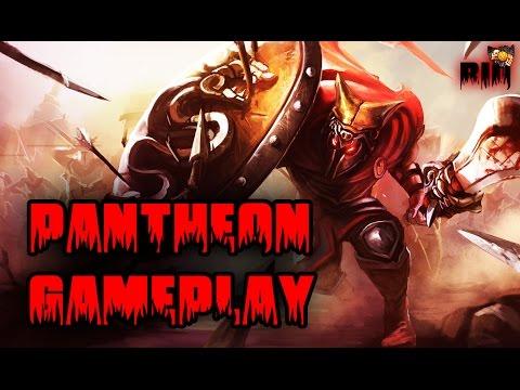League of Legends - Pantheon Gameplay (HUN - Magyar)