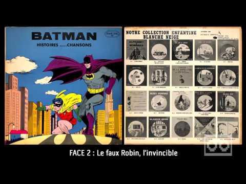 Batman - Histoires-Chansons - (Face 2) Le faux Robin, l'invincible