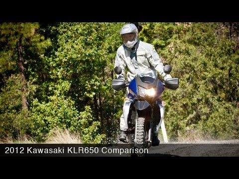MotoUSA Comparison: 2012 Kawasaki KLR650