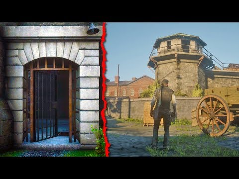 How To Get Inside the PRISON in Red Dead Redemption 2 (Red Dead Online Location)