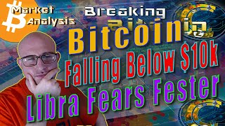 Libra Stands Its Ground As Bitcoin Dumps As Predicted - Government Showdown Inevitable?
