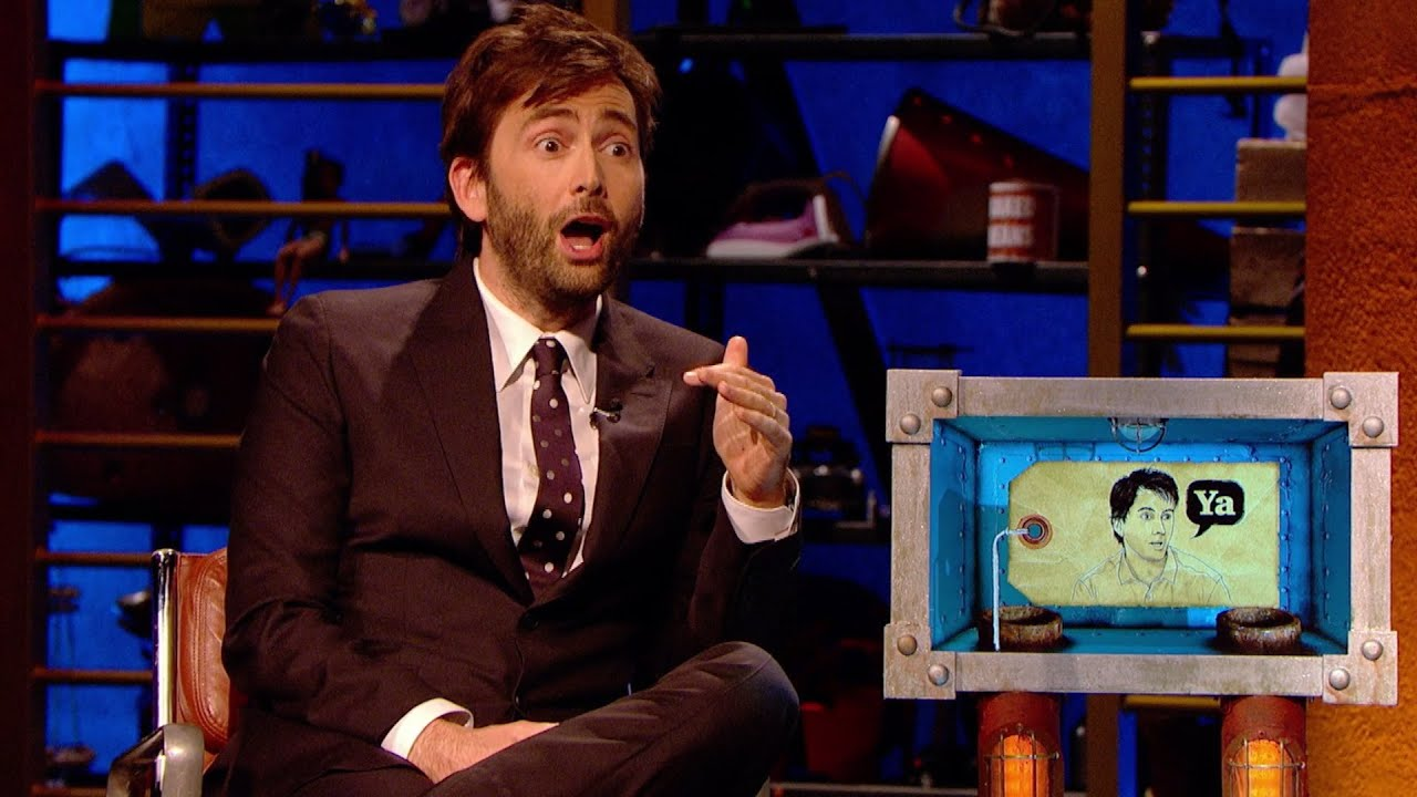 David Tennant\'s South African accent - Room 101: Series 5 Episode ...
