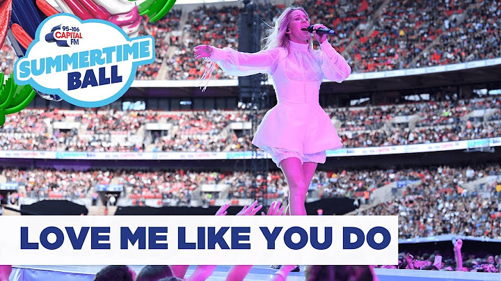 ellie goulding  love me like you do  live at capitals summertime ball 2019