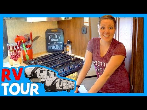 FIFTH WHEEL RV TOUR 🚌 The Chick's Life Family Of 4 Full Time RV Living Tour