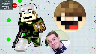 AGAR.IO NO MINECRAFT!