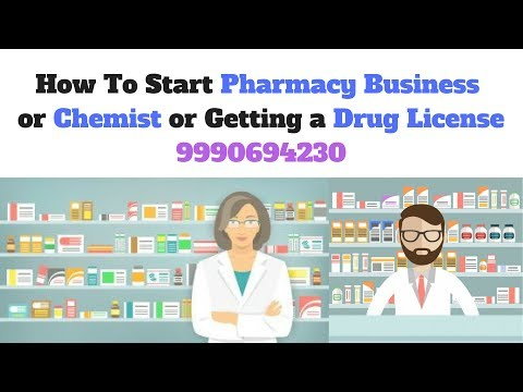How to start own Pharmacy Business Retail or Wholesale in In