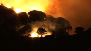 Pyrénées orientales: mort d'une femme pompier dans un incendie