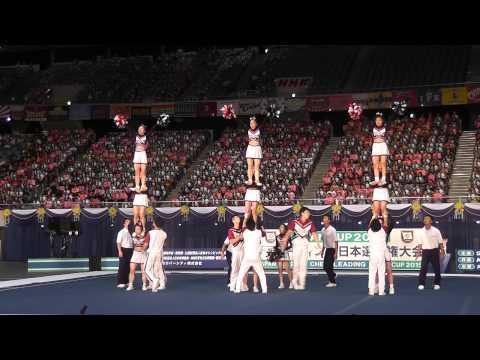 JAPAN CUP2015 DIVISION① 優勝演技 日本文理大学BRAVES