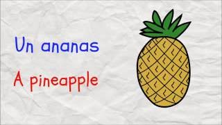 Fruits and Vegetables in French | Learn French easy