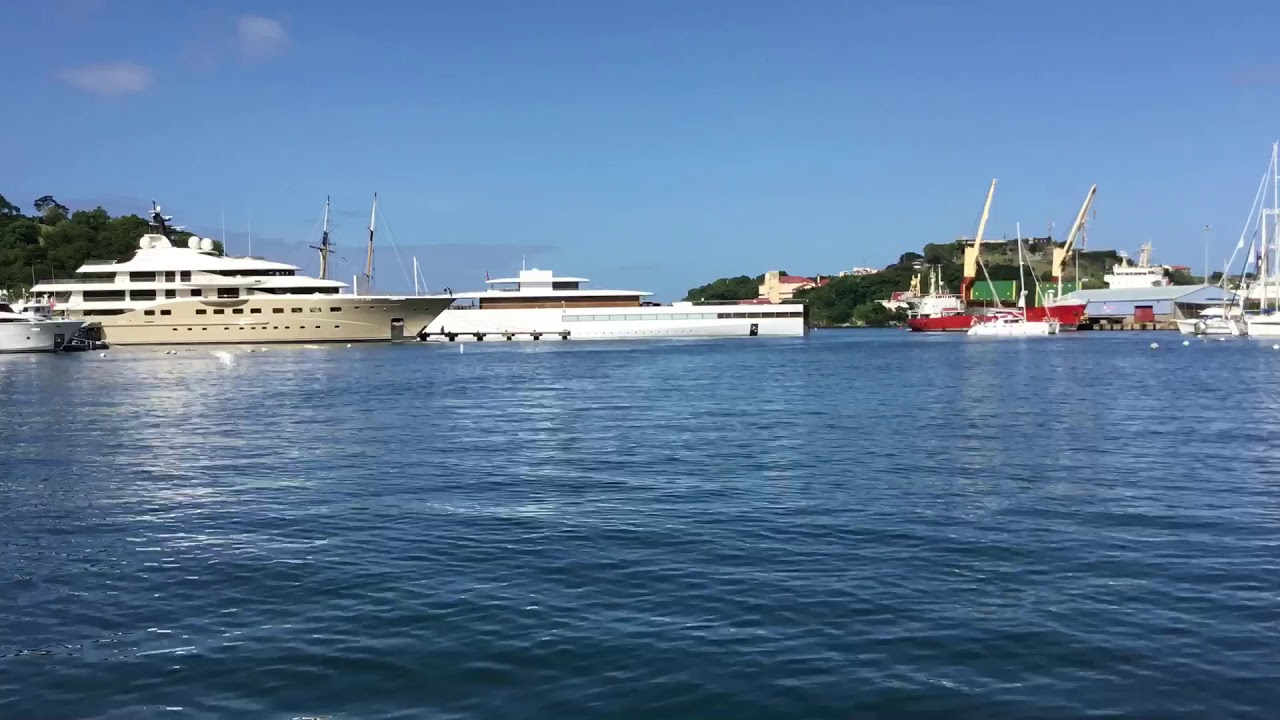 Steve Jobs Super Yacht Venus Quit The Port Louis Marina In Grenada