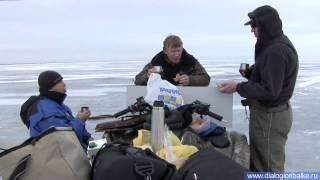 Краснодар Приморск-Ахтарск часть 1(Зимняя ловля щуки на жерлицы в Приморск-Ахтарском заливе., 2010-09-23T05:33:31.000Z)
