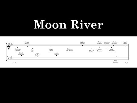 Jacob Collier - Moon River (Transcription)