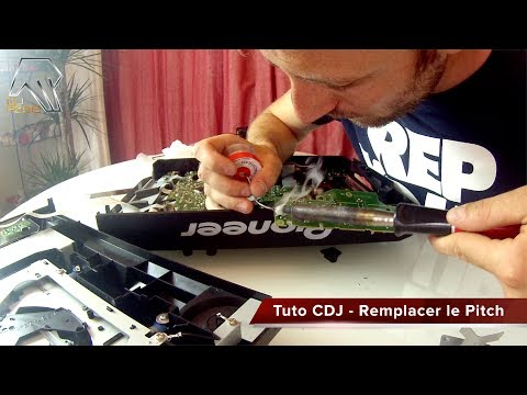 Tuto Pioneer CDJ 2000 - Remplacer Changer Pitch Fader Tempo