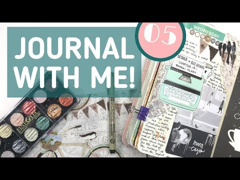 Creative Journaling Session | Journal With Me 05
