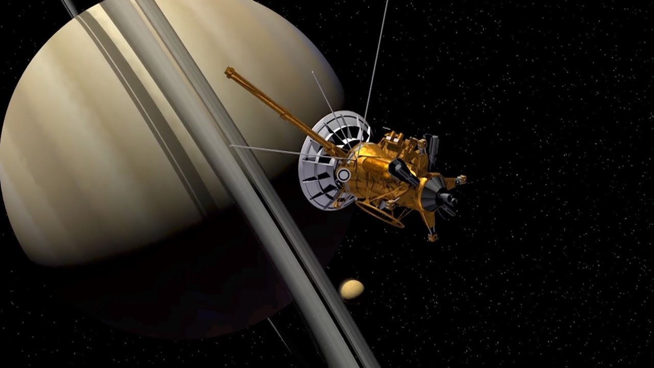 cassini spacecraft pictures of saturn - 1280×720