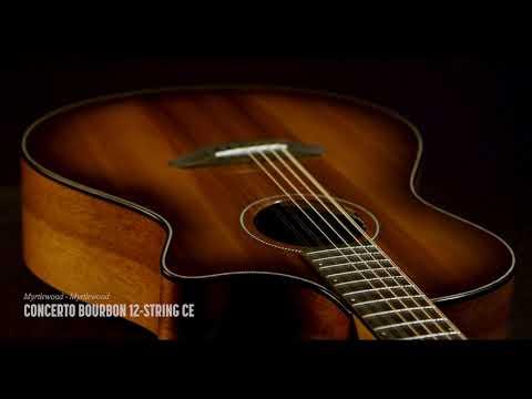 Breedlove Guitars: Oregon Series Concerto Bourbon CE 6 & 12-Strings