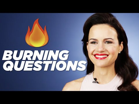 "Your ""The Haunting Of Hill House"" Questions Answered By Carla Gugino"