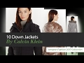 10 Down Jackets By Calvin Klein Amazon Fashion 2017 Collection