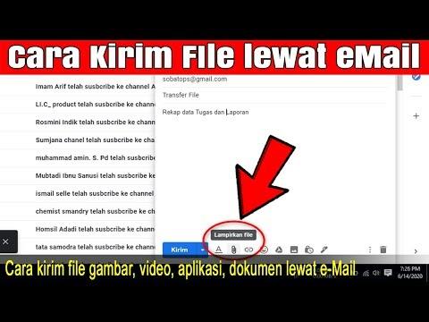Berikut ini saya jelaskan cara mengirim email Gmail, Yahoo, tugas sekolah atau kuliah yang berisi la.