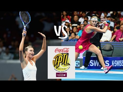 Sharapova vs Mladenovic | 2014 IPTL Highlights