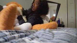 GIANT TEDDY BEAR PRANK ON GIRLFRIEND! *Hilarious*😂😂