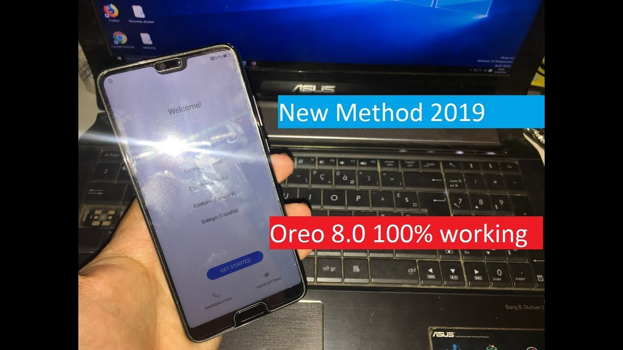 New Method 2019 All Huawei 2018 Remove Google Account Unlock FRP Android  Oreo 8 0 100% working