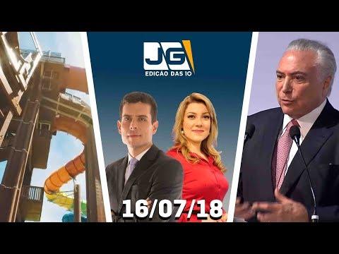 Jornal da Gazeta - Edição das 10 - 16/07/2018