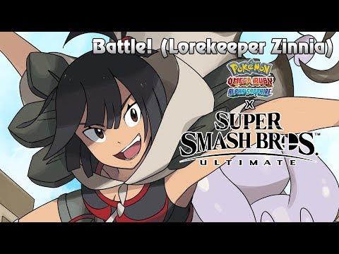 Battle! (Lorekeeper Zinnia) WITH LYRICS - Pokémon ORAS/Super Smash Bros. Ultimate Cover thumbnail