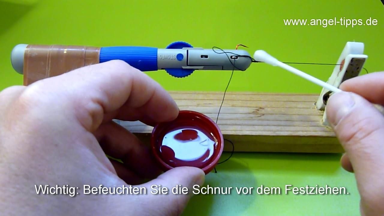 Stonfo Hakenbinder Hook Tyer Größe Piccolo Angelhaken selber binden