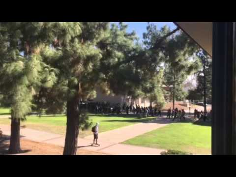 People of Color -- Student Protest at Harvey Mudd