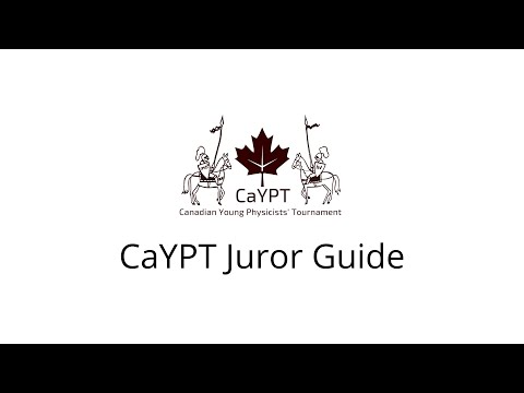 CaYPT Juror Guide