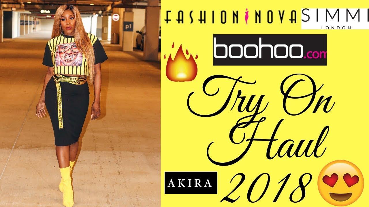 87533bc0d20a Boujee on a Budget Try On Haul ft. Fashion Nova, Boohoo, Forever 21, Shop  Akira