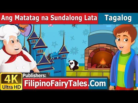 Ang Matatag na Sundalong Lata - Kwentong Pambata - Pambatang Kwento - 4K UHD - Filipino Fairy Tales
