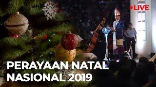 [LIVE] Perayaan Natal Nasional 2019 Bersama Presiden Jokowi