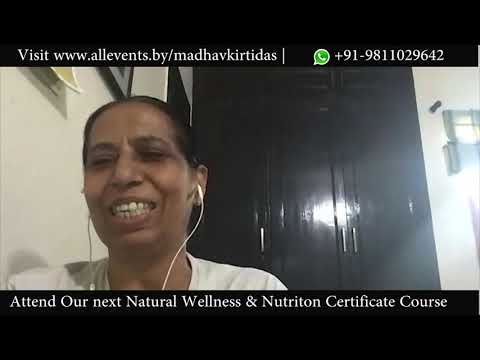 Mrs Khurana Noida Sharing Her Experience On Completing Online Naturopathy & Nutrition Online Course.
