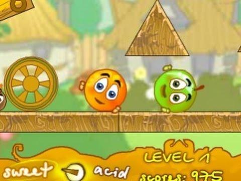 Игра Спаси Апельсин часть 1