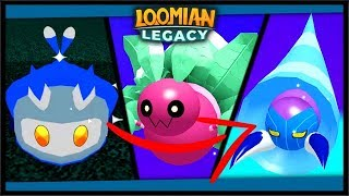 5x GLEAMING LOOMIAN HAUL, GLEAMING FLORANT, PYDER, GRUBBY | Loomian Legacy (Roblox)