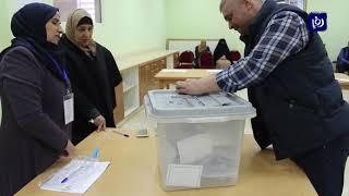 77.6 % النسبة العامة لانتخابات نقابة المعلمين - (19-3-2019)