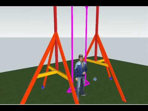 Gweeto's DIY 360º Adult Swingset