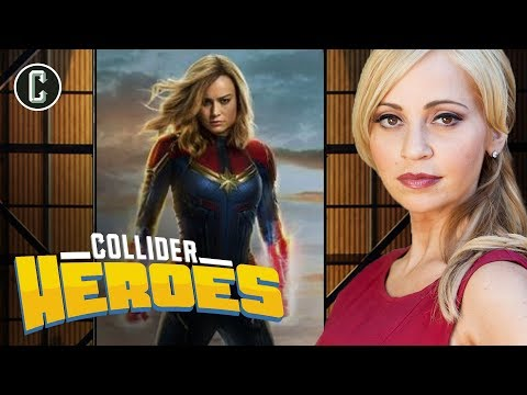 Captain Marvel  Offers an Otherworldly MCU Origin Story;  with Tara Strong  Heroes