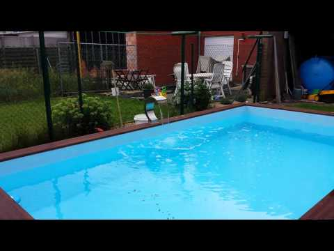 Gardipool above ground wooden swimming pools doovi for Custom made above ground pools