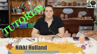 Flesh coat Painting Tutorial with Real Effect air dry paints - Nikki Holland vlog #133