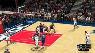 NBA 2k13-Gameplay-ITA- (strano ma.. Jordan schiaccia)